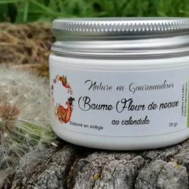 Baume calendula, Baume Fleur de peaux, achillée millefeuille, soin du visage aux plantes, soin toutes peaux, soin naturel aux plantes, soin hydratant, soin antirides, hydratant, antirides, crème de jour, crème de nuit